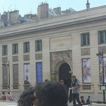 Outside of Orsay Museum