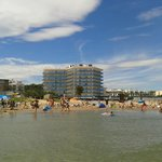 View from the beach (daytime)