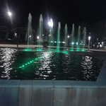 Along the promenade... fountains