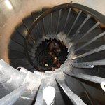 A bottomless spiral
