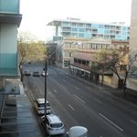 view from our room.. Rundle Mall is just around the corner