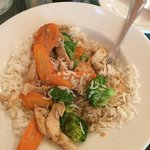 Thai veggie curry with chicken
