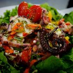 fresh octopus salad!!