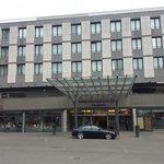 Aussenansicht des Hotels