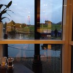 View again from restaurant table