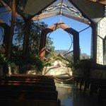 Wayfarers Chapel Designed by Lloyd Wright