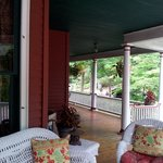 Part of wrap-around porch