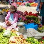 Vegetable Vendor in Pisac Market