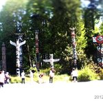 Totem Of STanley Park