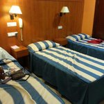 our triple bed room