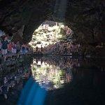 La luce nella grotta dei granchietti