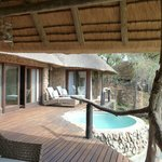 Lodge Private Deck & Plunge Pool