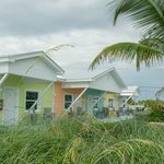 Beach huts at Casey Key
