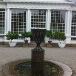 Orangery and water feature, Saltram NT