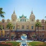 Exterior to Casino Monte Carlo main entrance