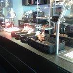 buffet abbondante