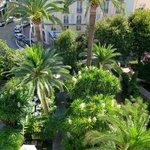 Palemgarten des Hotels