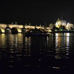View from the boat - Charles Bridge