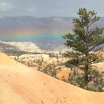 Horizontal Rainbow from Fairyland Point in Bryce