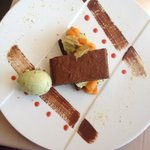 brownie pistaches
