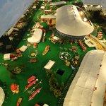 Miniature circus layout