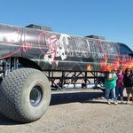 Largest monster truck in the world!