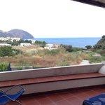 Vista mare dalla stanza Lipari