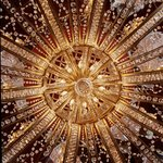 The famous Penrose Room Chandelier