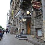 Nevsky Grand Hotel on a relatively quiet side street near Nevsky Prospect
