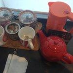 Café, té, agua
