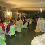 wedding reception/dining