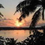 coucher du soleil Maupiti