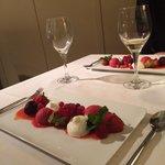 Foam Yoghurt & Berry Sorbet