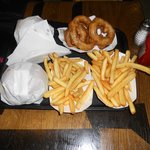 Proper chips and awesome onion rings