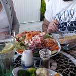 Seafood platter, image does no justice to size!