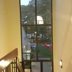 Window near lobby