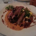Duck breast... Absolutely the most amazing dish I have ever had