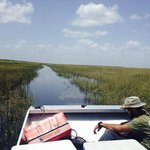 A breath taking view of the Everglades