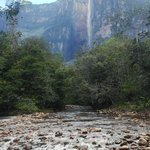 The view from the camp near Angel Falls