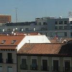 Hotel avistado do terraço do Museu Reina Sofia