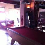 Bar/pool room