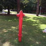 We love finding fire hydrants all over the world. This one is pretty awesome!