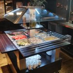 All you can eat from our freshly prepared salad cart