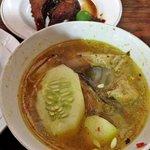 Mak Beng grilled fish & fish soup