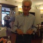 Moreno spiega i piatti