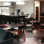 Comfort Inn Dayton/Huber Heights Truly Yours Breakfast Seating