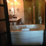 Great onsuite bathroom with a jacuzzi tub