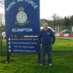 Outside the famous raf Scampton