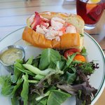 Lobster roll was excellent