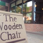 The front if The Wooden Chair